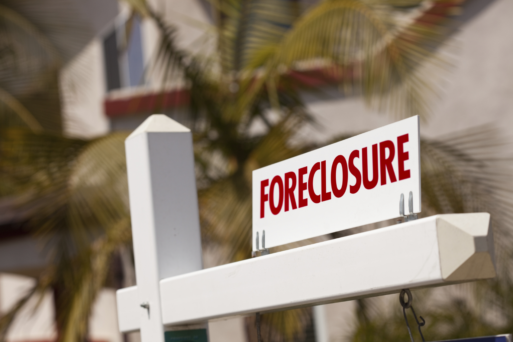 Forclosure Sign - Chapter 13 Bankruptcy in Columbus