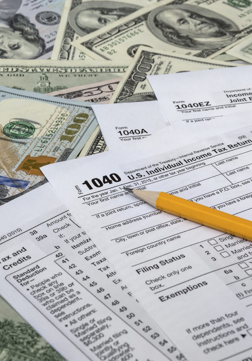 IRS 1040 Tax Discharge After Bankruptcy in Columbus